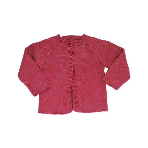 CITRONILLE knitting pattern N?5, Raglan cardigan . - La Mercerie Parisienne