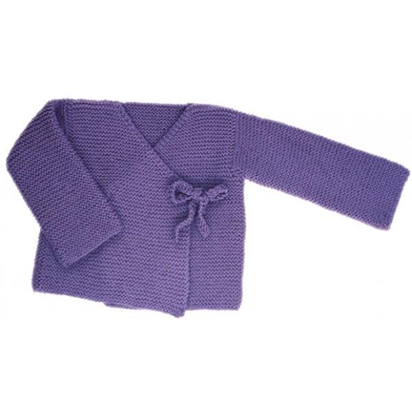 CITRONILLE knitting pattern N?31, Cross-over jacket. - La Mercerie Parisienne