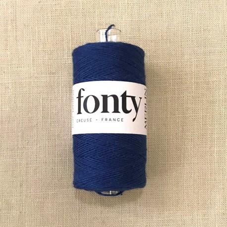 Linen Thread Merlin by Fonty, col. Indigo