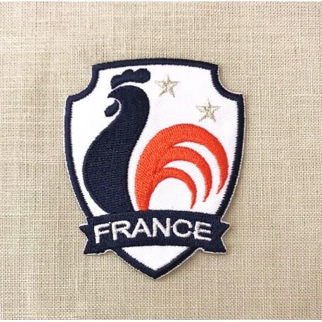 Ecusson Cocorico Coupe du Monde