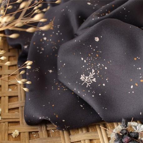 "Atelier Brunette Fabric, ""Twig Night"""