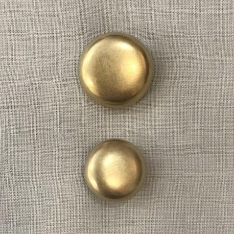 Golden Brass Metal Button