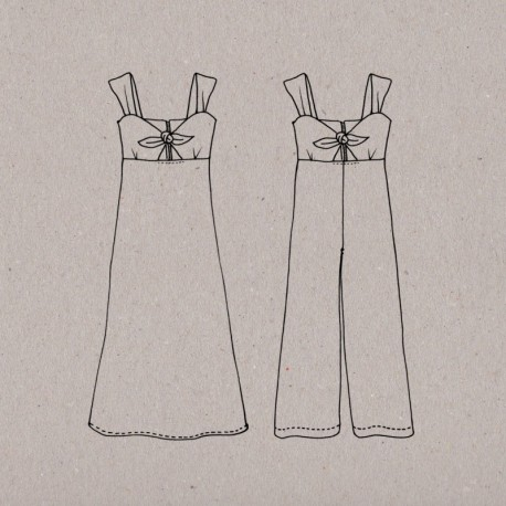 Women Sewing Pattern Aime comme Marie, Dress or Overall Aime Comme Aime Comme Muguet