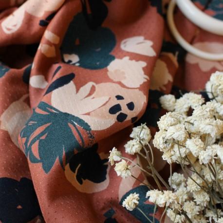 Atelier Brunette Fabric, Posie Chestnut