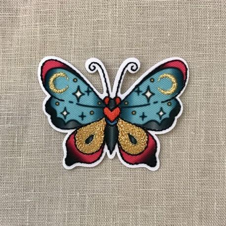 Hot Melt Tattoo Night Butterfly