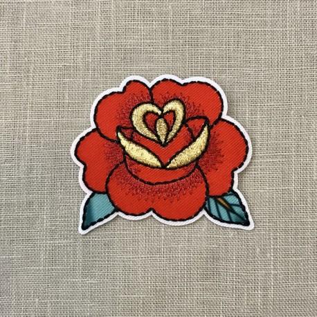 Ecusson Tattoo Fleur de Lotus