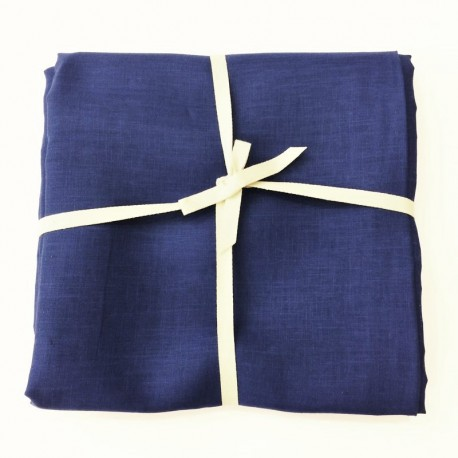 Indigo Linen, 3 Meters Fabric Coupon