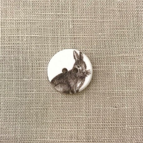 Children button, Berlingot Le Lapin
