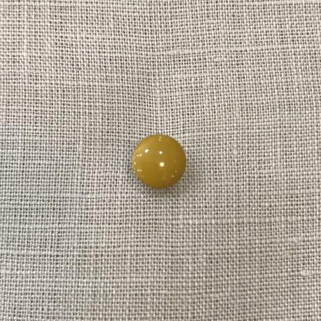 Metal Button Petit Clou, Col. Mustard