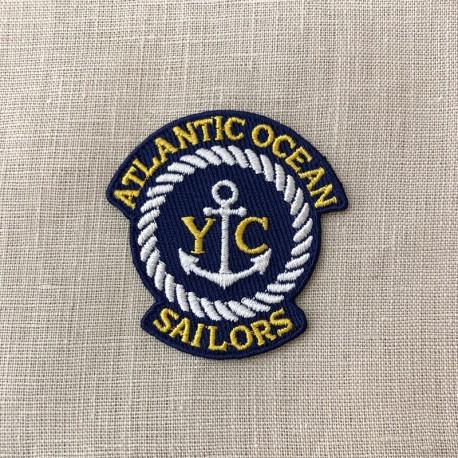 Ecusson Atlantic Ocean Sailor