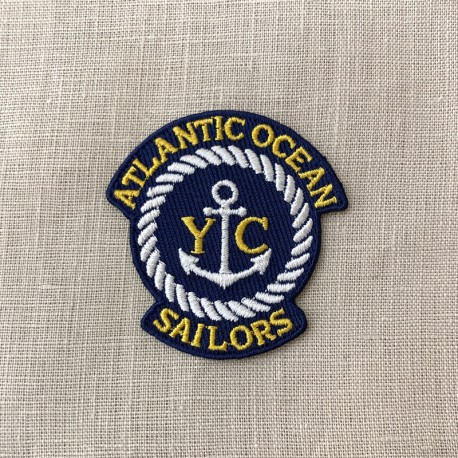 Hot Melt Motif Atlantic Ocean Sailor