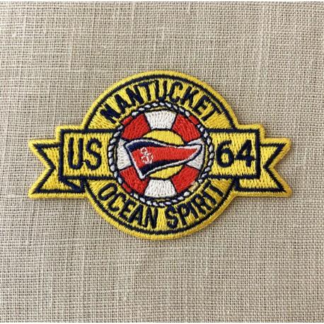 Ecusson Nantucket Ocean Spirit