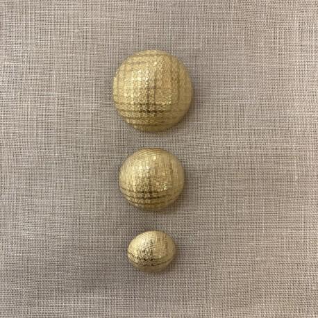 Metal Button Très Chic, col. Light Gold