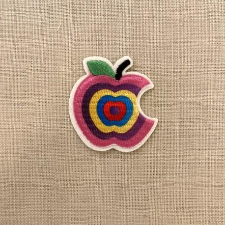 Ecusson Croque La Pomme, col. Woodstock