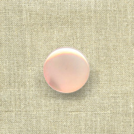 Ankle boot's mother-of-pearl Button, col. Light pink