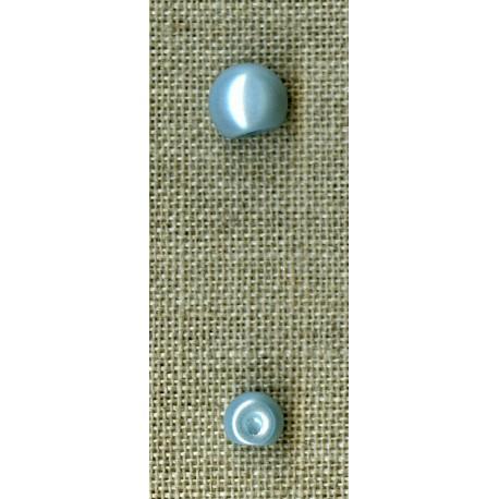Pearl button, col. Azur