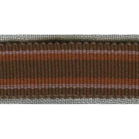 Chocolate/Toffee/Rosewood grosgrain ribbon
