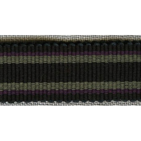 Black/Mouse/Purple grosgrain ribbon