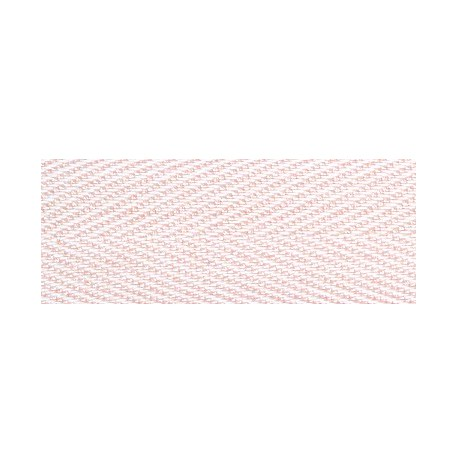 Herringbone ribbon, Sugar almond 407