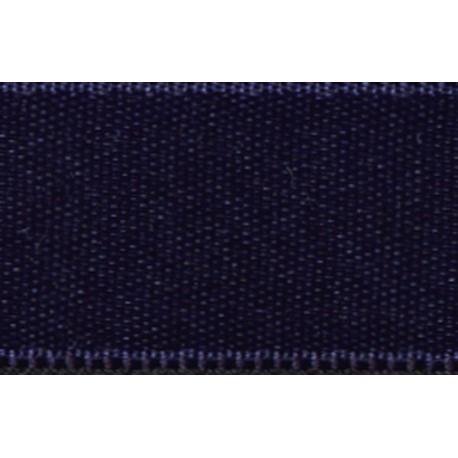 Reversible satin ribbon col. Light navy 23