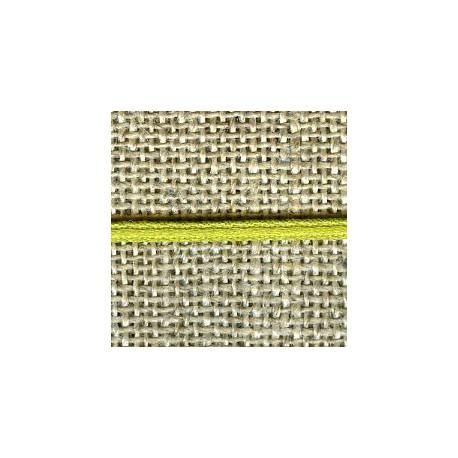 Mini reversible satin ribbon, col. Pistachio 421