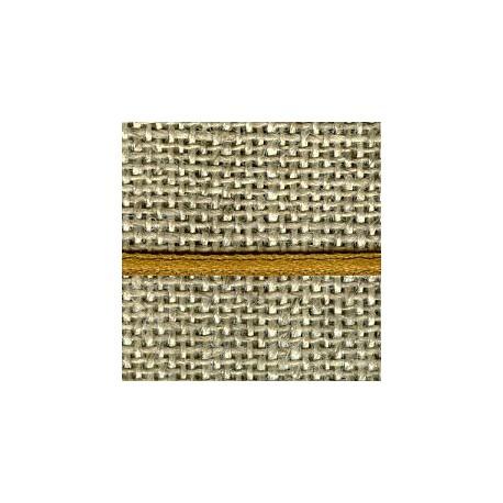 Mini reversible satin ribbon, col. Old gold 249