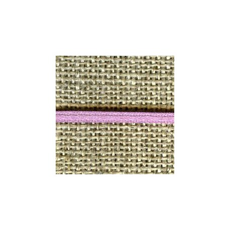 Mini reversible satin ribbon, col. Lilac 328