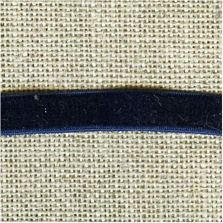 Velvet ribbon elastic, col.353 Sailor's Jacket