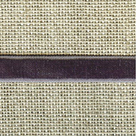 Ruban Velours elastique, col. 239 Etain