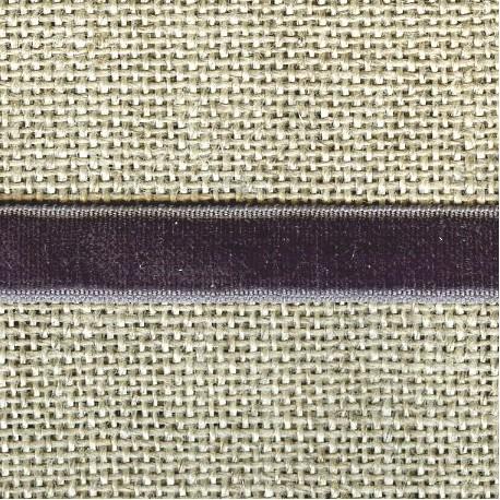 Velvet ribbon elastic, col. 239 Tin