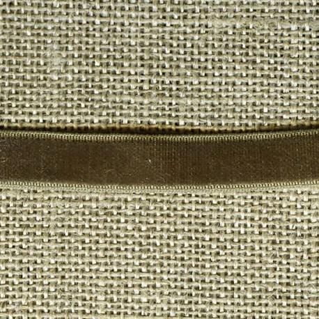 Velvet ribbon elastic, col. 359 Koala