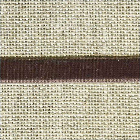 Ruban Velours elastique, col. 417 Maron Glacé