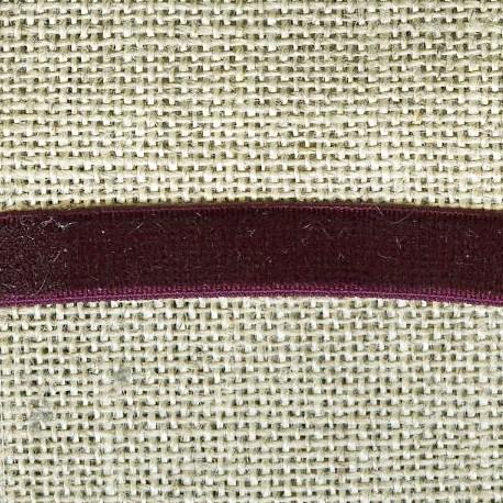 Velvet ribbon elastic, col. 209 Millesime