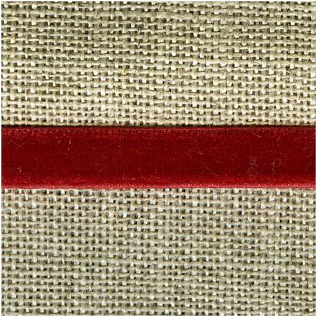 Velvet ribbon elastic, col. 360 Opera