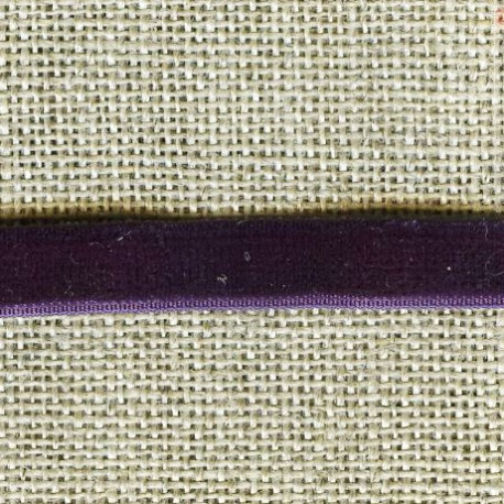 Ruban Velours elastique, col. 401 Violette