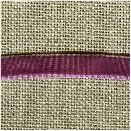 Velvet ribbon elastic, col. 396 Dark Purple