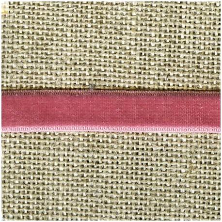 Velvet ribbon elastic, col. 365 boudoir