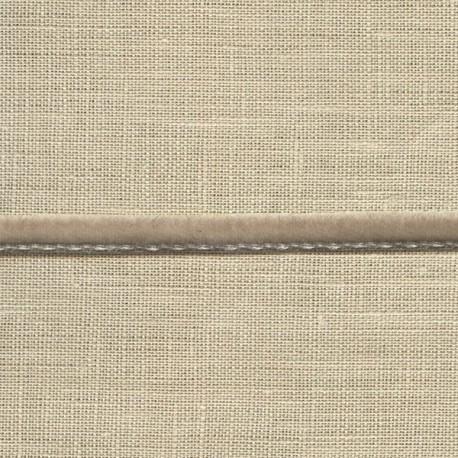 Mini velvet ribbon 5mm, col. Turtuldove 427