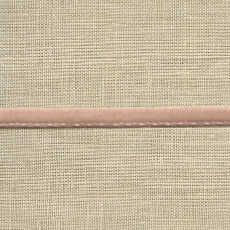 Mini velvet ribbon 5mm, col. Old rose 335