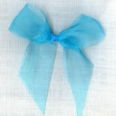 Ruban organdi col. Turquoise 005