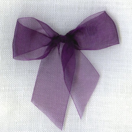 Ruban organdi col. Violet 091