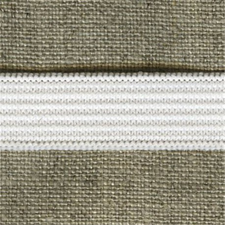 Classic White Elastic,  in 13 widths
