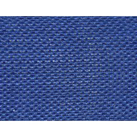 Made in France. Royal blue cotton gauze ribbon