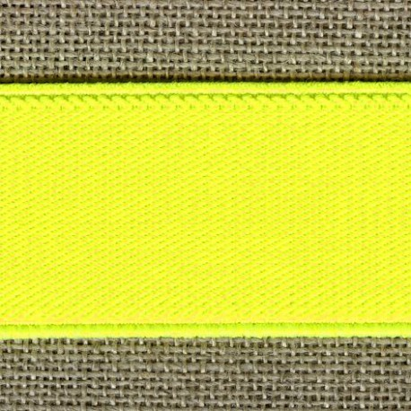 Fluo belt elastic, col. Yellow lemon