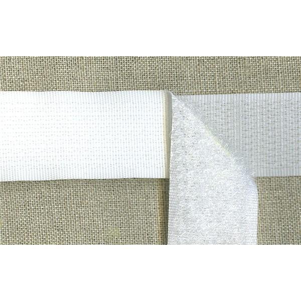 auto gripping tape col white la mercerie parisienne. Black Bedroom Furniture Sets. Home Design Ideas