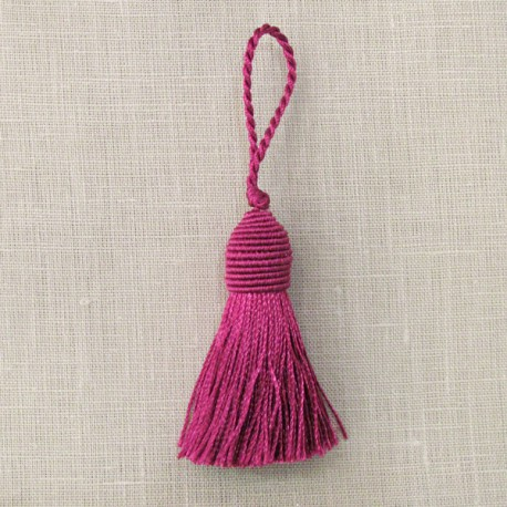 Head of carrot tassel, col. Indian Pink