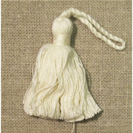 Simple tassel, col. Ivory 51
