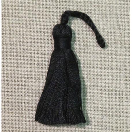 Passementerie Petite Pampille coton, col. Noir 14