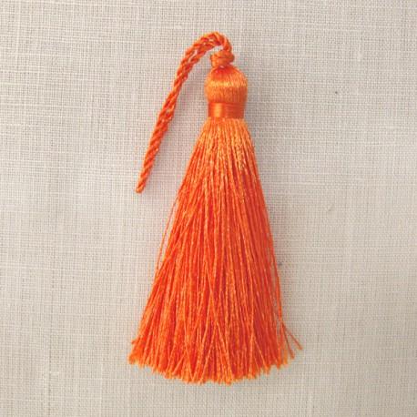 Barley sugar tassel, col. Pumpkin
