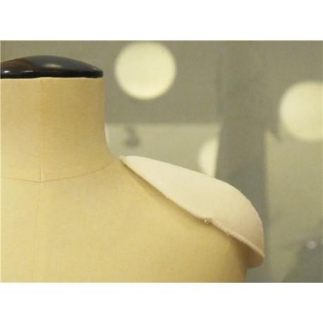 Fashion Raglant shoulder pad col. White